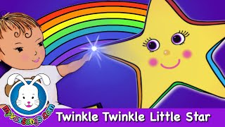 Twinkle Twinkle Little Star | Nursery Rhymes with lyrics by MyVoxSongs