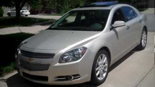 2012 Chevrolet Malibu LTZ Quick Tour And Test Drive