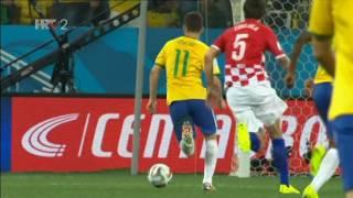 Četvrtak, 12. 6. 2014. U utakmici otvaranja 20. svjetskog nogometnog prvenstva Hrvatska je izgubila od Brazila s 3:1 (1:1). Brazilci...