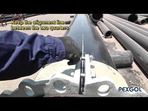 Instrucciones de armado y alineación de acople bridado Pexgol