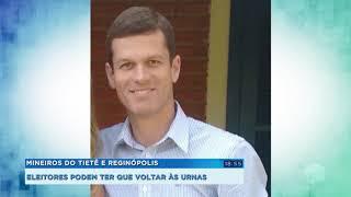Eleitores de Mineiros do Tietê e Reginópolis devem voltar às urnas