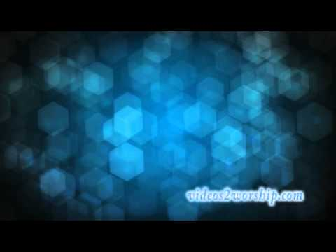 Animated Cubes Worship Video