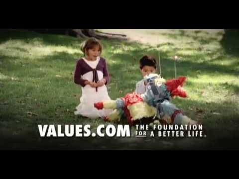 Values.com Commercial (2014) (Television Commercial)