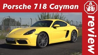 2016 Porsche 718 Cayman - In-Depth Review, Full Test, Test Drive by Video Car Review