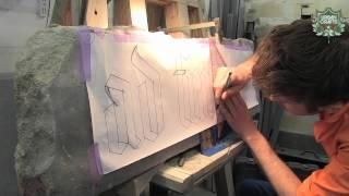 Thibault Bekaert – Gravure de lettrages