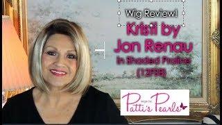 Video Wig Review:  Kristi by Jon Renau in Shaded Praline (12FS8) MP3, 3GP, MP4, WEBM, AVI, FLV Juni 2018
