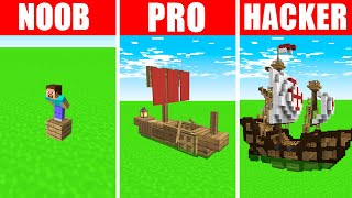 Minecraft NOOB vs. PRO vs. HACKER: ACID OCEAN SURVIVAL CHALLENGE in Minecraft! (Animation)
