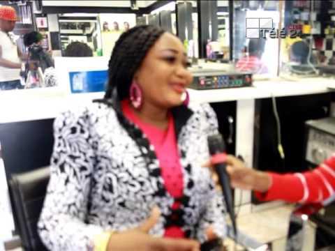 TÉLÉ 24 LIVE: SANDRA KABALA reçoit STELLA BUELI en direct d'Afrique du sud en Johannesburg