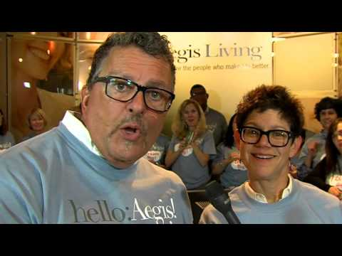 Aegis Living Dream Big Lotto - Dwayne Clark