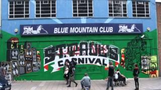 St Pauls Carnival, Inkie , Silent hobo , leon graffiti time lapse, Bristol
