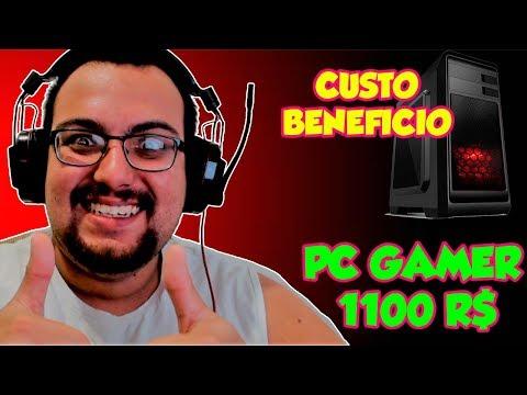 PC GAMER BARATO DE 1100 REAIS!!  / FEVEREIRO 2018