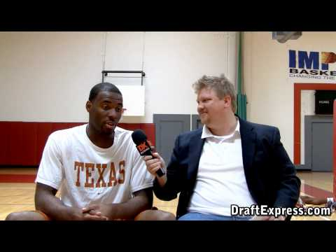 DraftExpress Exclusive: Damion James Pre-Draft Interview & Workout Footage