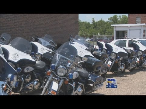 Motorcycles - Penny Tax gets Mobile Police new motorcycles.