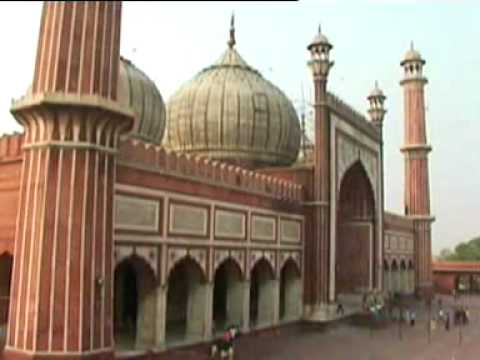 masjid - Located opposite to Red Fort in Old Delhi, Jama Masjid has three gates, two minarets - 40 meters in height and four towers. The minarets are made up of red s...