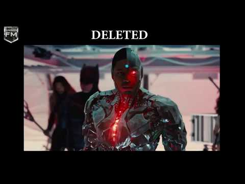 DELETED SCENES  JUSTICE LEAGUE