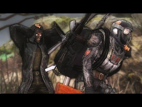 STALKER Lost Alpha: Тетрис, Бандиты И Непробиваемая Лада!