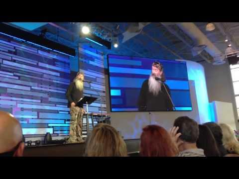 Phil Robertson of Duck Dynasty @ Saddleback Church