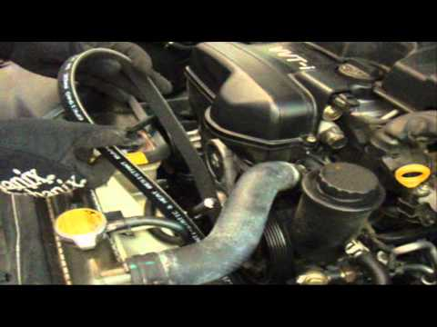 Lexus GS300, 2001 – Serpentine Belt (Multi-Rib) Replacement (DIY $20-30, Save ~$90)