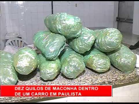 [RONDA GERAL] Vendedor ambulante é preso com 10 kg de maconha em Paulista