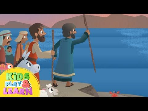 Moses Parts The Red Sea - Bible For Kids