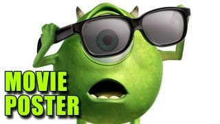 Monsters Inc. 3D Poster (re-release)
