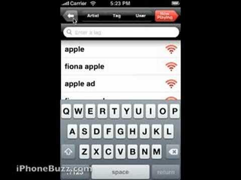 Detalles sobre Last.fm 2.0 para iPhone