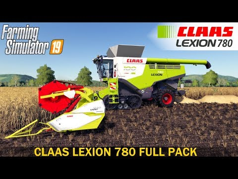 Claas Lexion 700 Series Full Pack v3.0