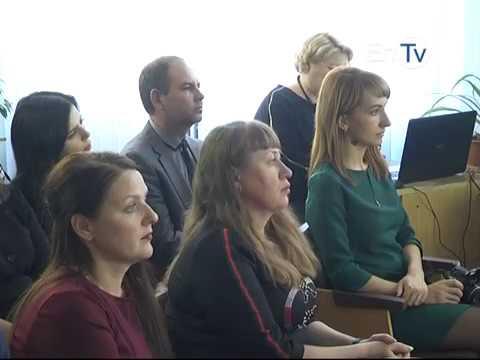 Мэр Энергодара Павел Музыка обсудил стратегию развития города со студентами Энергодарского института