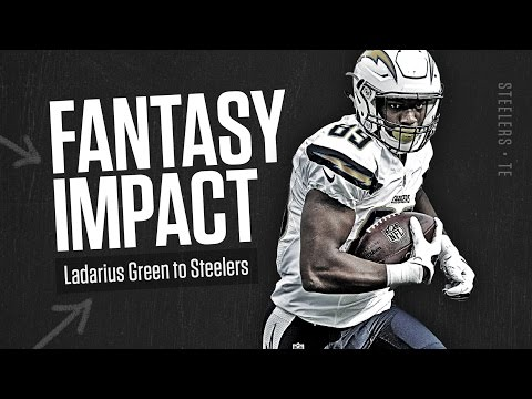 Impact of Ladarius Green to Pittsburgh – 2016 Fantasy Football thumbnail