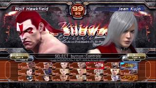 Virtua Fighter 5 Final Showdown All Characters/Character select [Playstation 3/PS3]Check out the Playstation 3 Full Playlist here:► https://www.youtube.com/playlist?list=PLTs-mgwfk_InVipZMsIsEB3LHmDbSi3vdSupport me on Patreon with just even $1 a month if you enjoy my content!► https://www.patreon.com/aubueWant to see more? Make sure to Subscribe and Like!Subscribe ► https://www.youtube.com/Aubue?sub_confirmation=1Facebook ► https://www.facebook.com/AubueTVTwitter ► https://www.twitter.com/AubueTVTwitch ► http://www.twitch.tv/AubueThank you so much for your support :)GAME INFOName: Virtua Fighter 5 Final Showdown (バーチャファイター5 ファイナルショーダウン)Developer: Sega AM2Publisher: SegaPlatforms: Arcade, PlayStation 3, Xbox 360Release Date: June 5, 2012Website: http://www.sega.com/games/virtua-fighter-5-final-showdown#VirtuaFighter #バーチャファイター #Playstation #Gaming