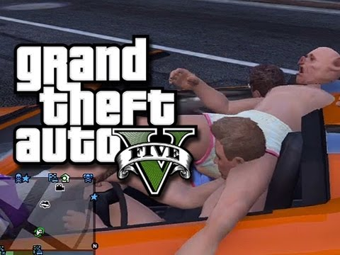 GTA 5 – Drunk Vinewood Tour, Scooby Doo, and More! (GTA 5 Funny Moments)