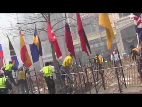 boston - Watch the aftermath of the explosions that rocked Boylston Street during the Boston Marathon. Video by Steve Silva.
