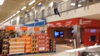 JUMPING FROM SUPERSTORE BALCONY!!!!