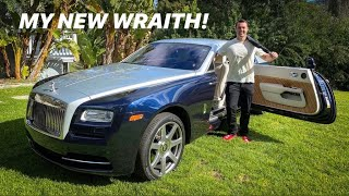 BUYING A ROLLS ROYCE WRAITH AT AGE 25!!! by Vehicle Virgins
