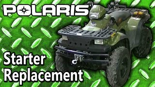 9. Polaris Sportsman 500 ATV Starter Replacement