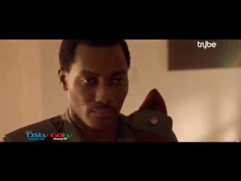 Daniel K Daniel, Tope Tedela and Adesua Etomi in 'A Soldier's Story' on TRYBE, October 1st
