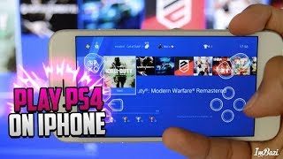 How To PLAY PS4 ON iOS iPhone & iPad! (REMOTE PLAY ON iPHONE!)