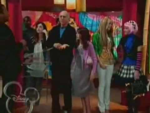 Still the most bizarre guest-star appearance I know of: Larry David on Hannah Montana