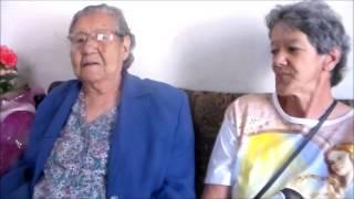 Dona Leontina completa 100 anos e fala com absoluta exclusividade na TV portal Dores de Campos