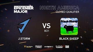 Black Sheep vs J.Storm, EPICENTER Major 2019 NA Closed Quals , bo1 [Maelstorm & Lost]