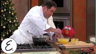 Kid-Friendly Eggnog Recipe with Elmo - Emeril Lagasse