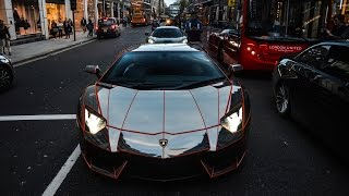 A compilation of a lot of supercars spotted in London this Autumn. Hopefully there will be something for everyone! Cars featured: Mansory Lamborghini Aventad...