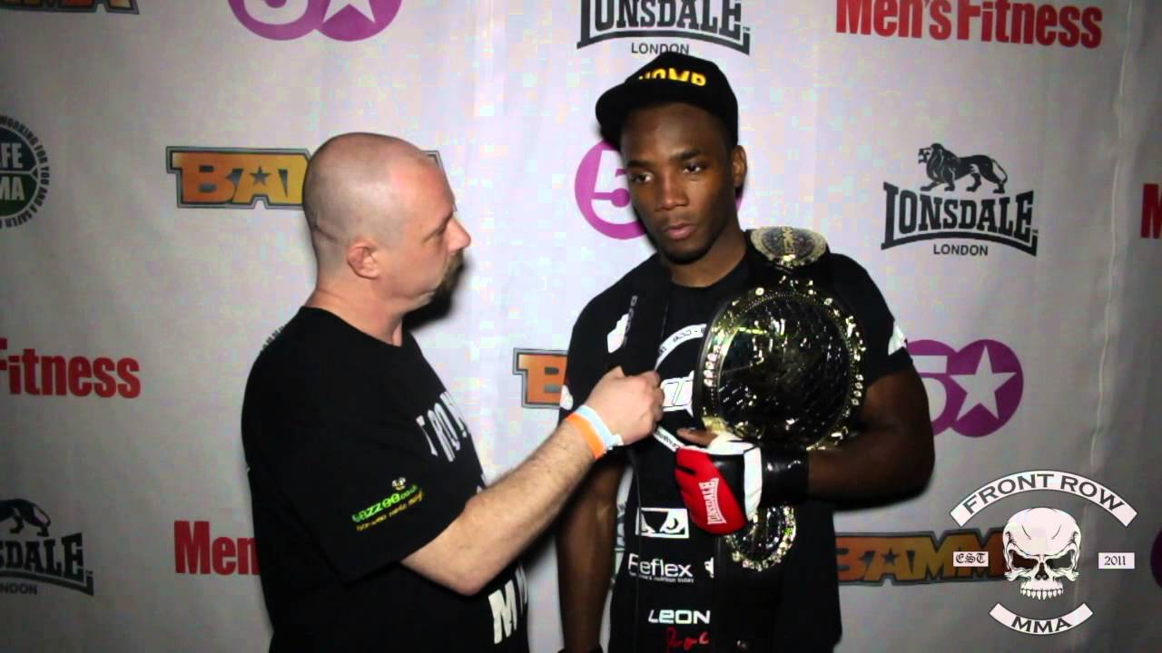 UTC's Leon Edwards: BAMMA 15 Post Fight Interview