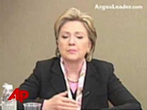 Clinton Makes RFK Assassination Remark