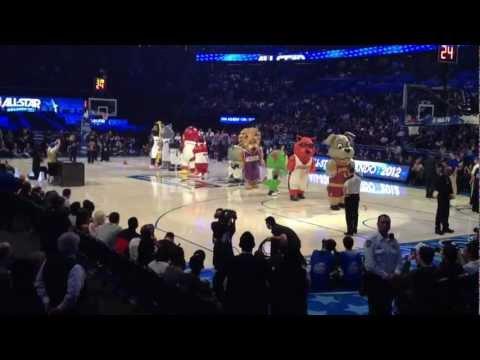 All Star Game 2012: le show des mascottes de la NBA (vidéo)