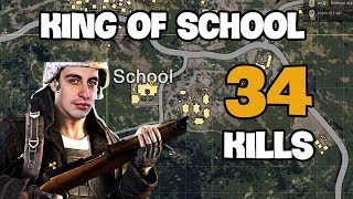 Video King of school - Shroud 34 kills Solo vs DUO FPP [NA] - PUBG Highlights TOP 1 #1 MP3, 3GP, MP4, WEBM, AVI, FLV Juli 2018