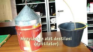 Destilasi Minyak dari Tanaman Daun Pandan Wangi - XI IPA 2 (Kelompok 5)