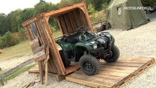 4. Test quad Yamaha Grizzly 300