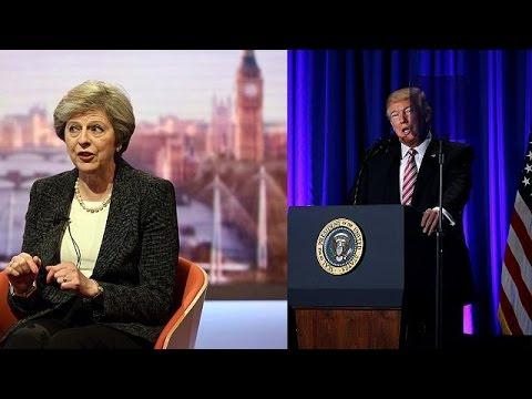Τερέζα Μέι – Ντόναλντ Τραμπ: Μια φιλία με μέλλον;
