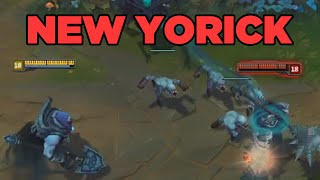 LoL Yorick Rework Update Spotlight - League of Legends